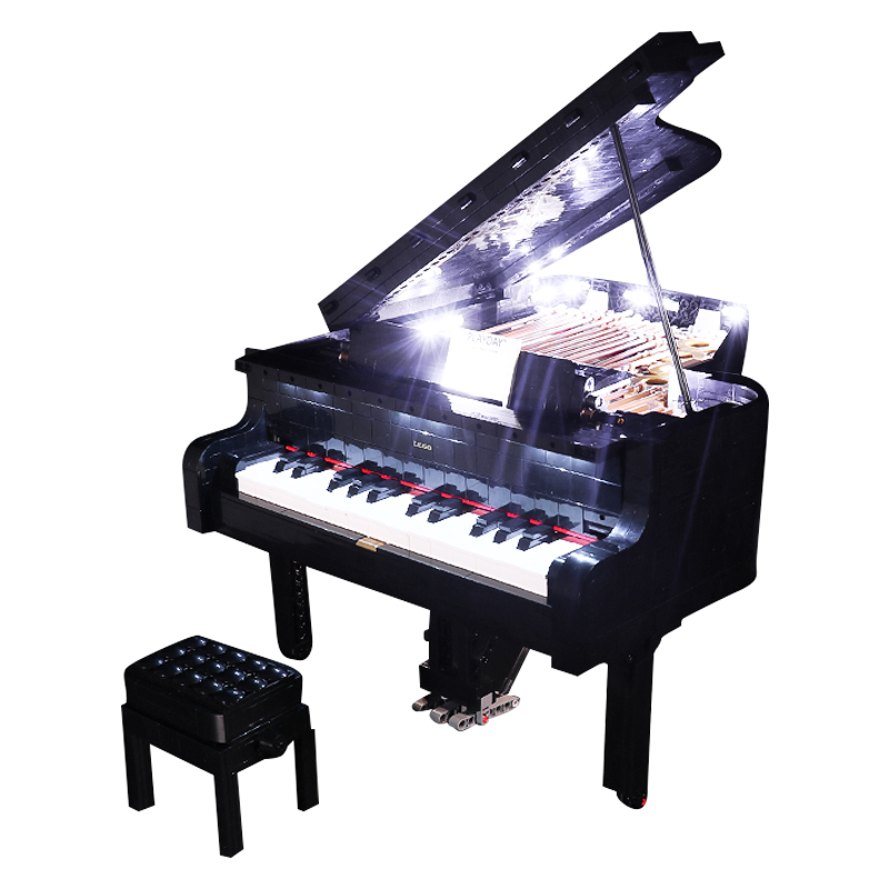 Grand Piano #Lego Light Kit for 21323