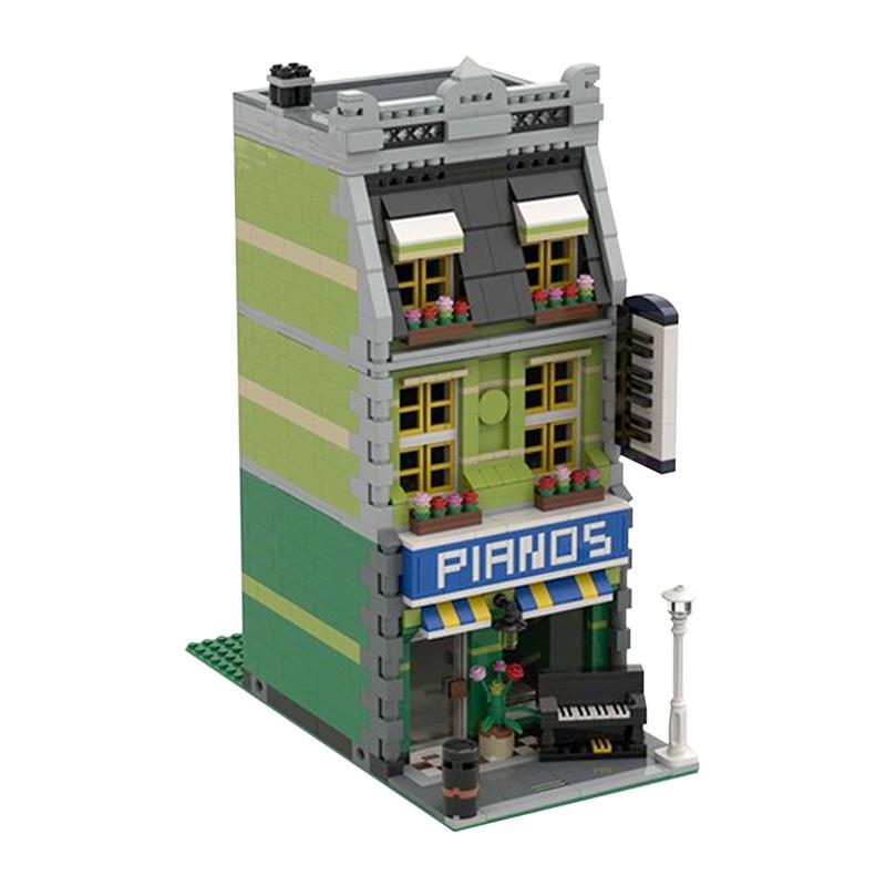 MOC-44464 Piano Showroom Modular Building