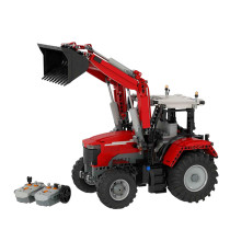 MOC-42331 Massey Ferguson 7700S with Front End Loader