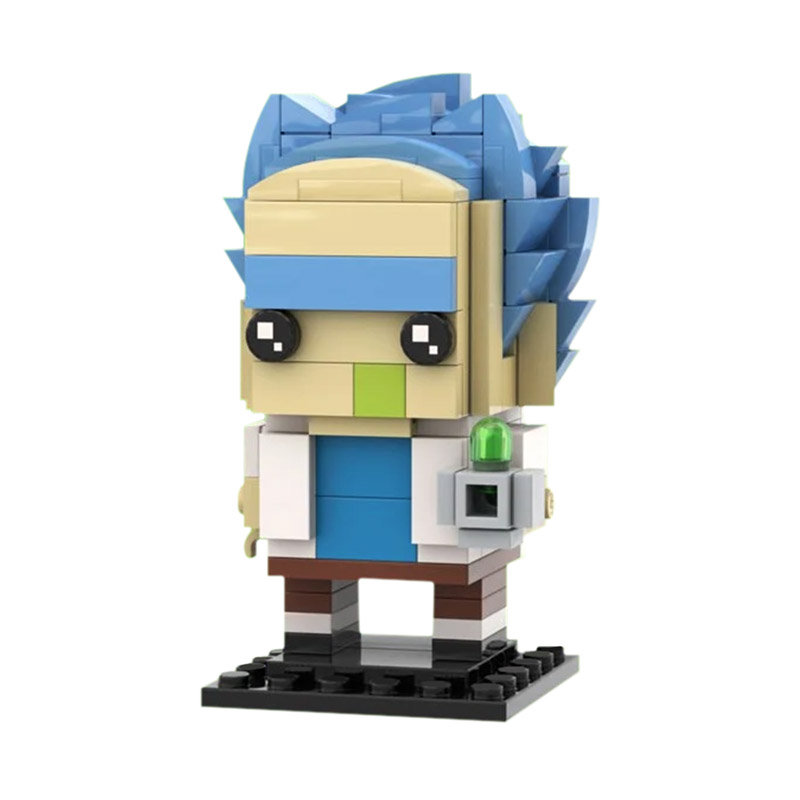 MOC-18188 Brickheadz - Rick Sanchez