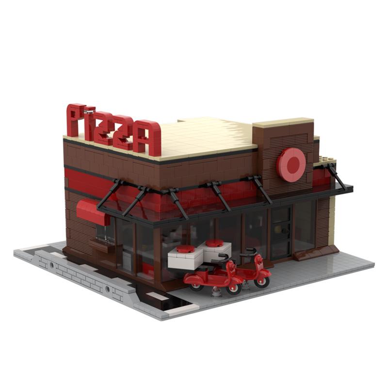 MOC-35480 Modular Pizza Building