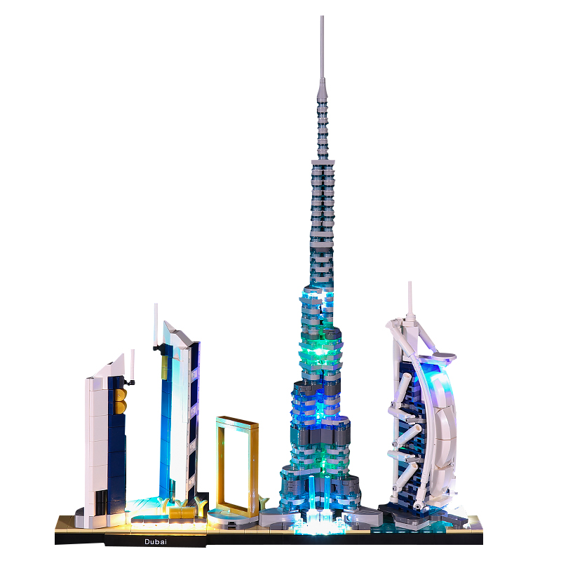Dubai #Lego Light Kit for 21052