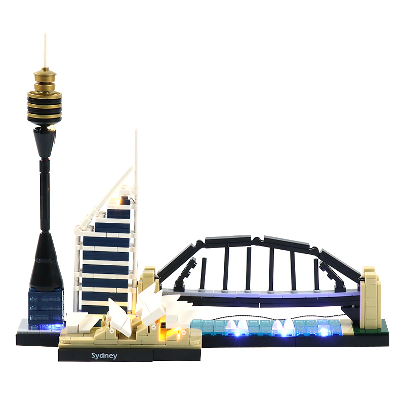Sydney #Lego Light Kit for 21032