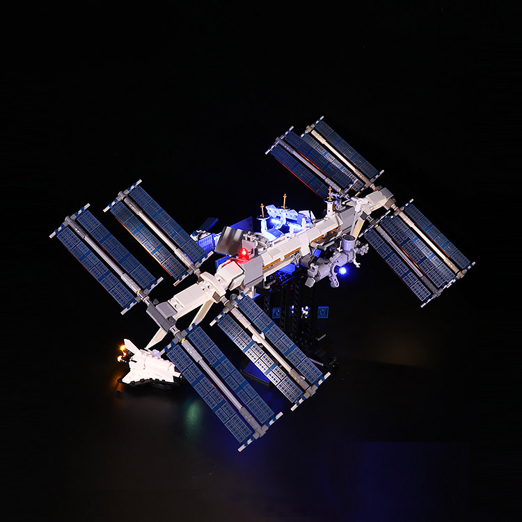 International Space Station #Lego Light Kit for 21321