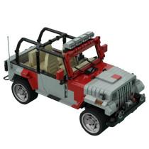 MOC-30511 Jurassic Jeep