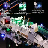 International Space Station #Lego Light Kit for 21321