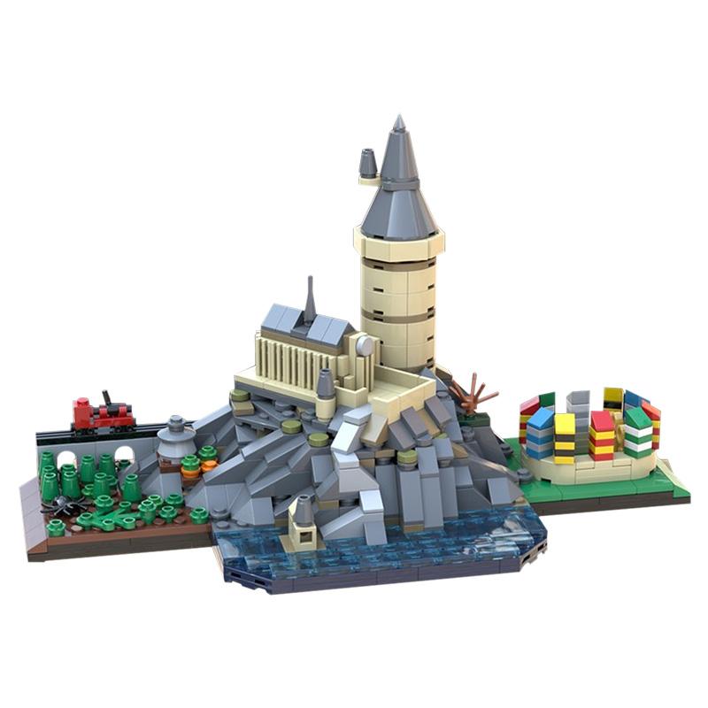 MOC-29067 Hօgwarts Skyline
