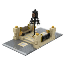 MOC-41731 Modular City Inbetween - Clock Square