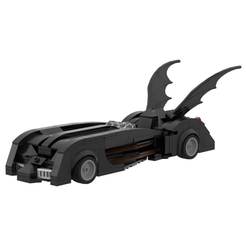 MOC-47860 Batman & Robin Batmobile