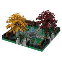 MOC-36080 Modular Park #2   4 sides connection