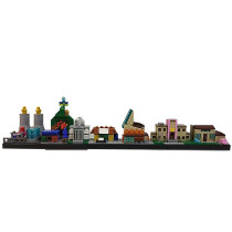 MOC-18013 The Simpsons Spingfield Skyline Architecture