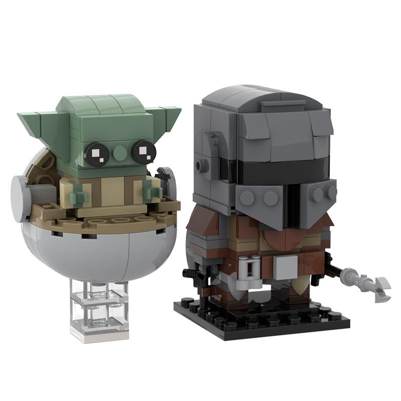 MOC-35477 Mandalorian and Baby Yoda