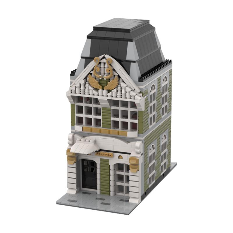 MOC-36135 Modular House #2