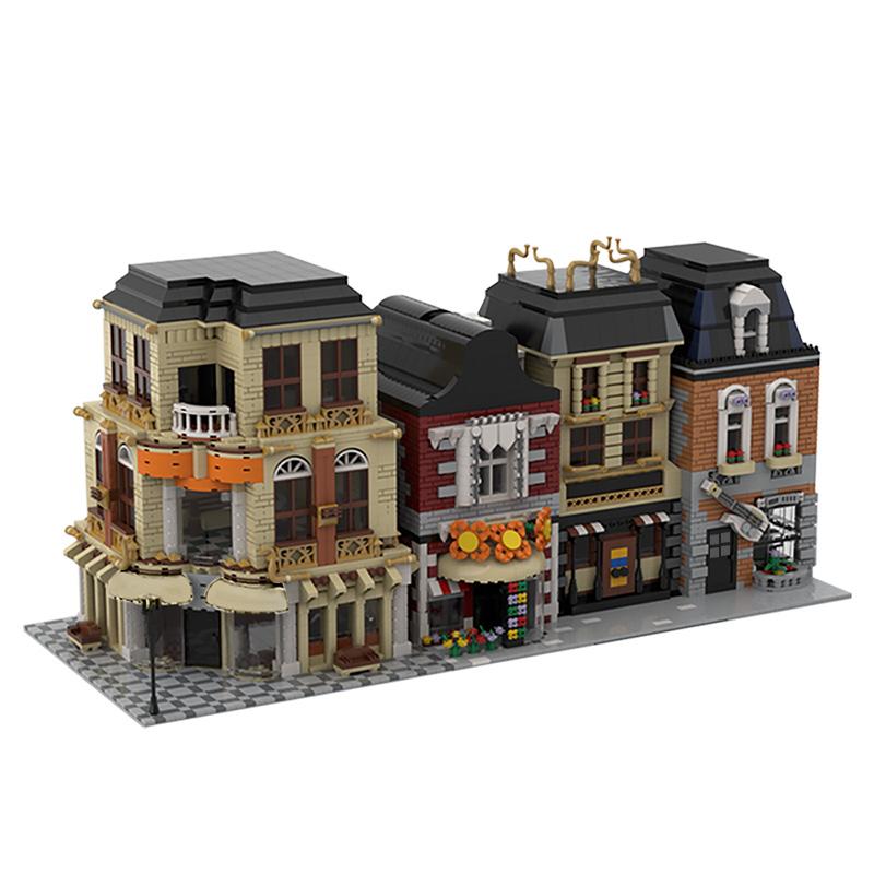 MOC-33843 Modular Street Build from 4 MOCs