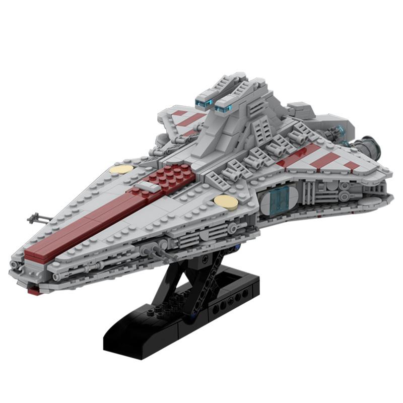 MOC-45566 Venator Class Republic attack cruiser