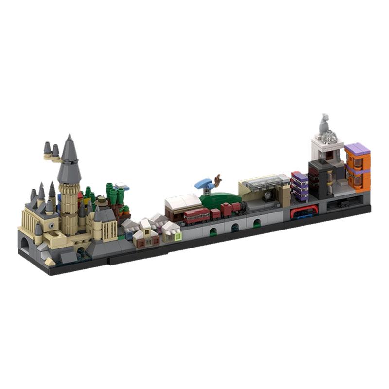 MOC-22348 Harry Pօtter Skyline Architecture