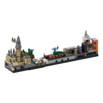 MOC-22348 Harry Pօtter Skyline Architecture