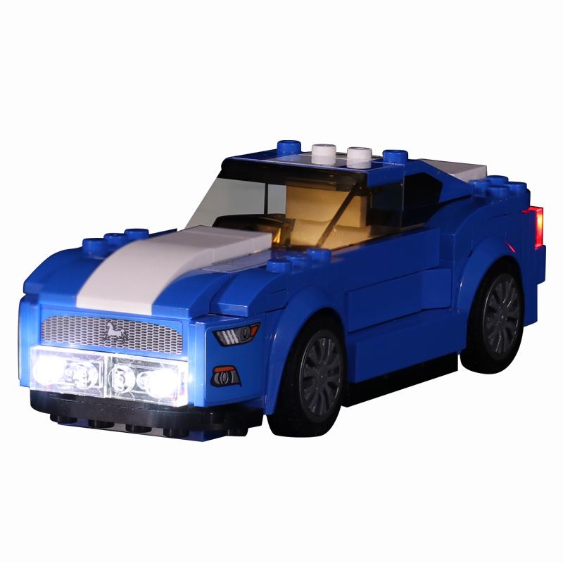 Ford Mustang GT #Lego Light Kit for 75871