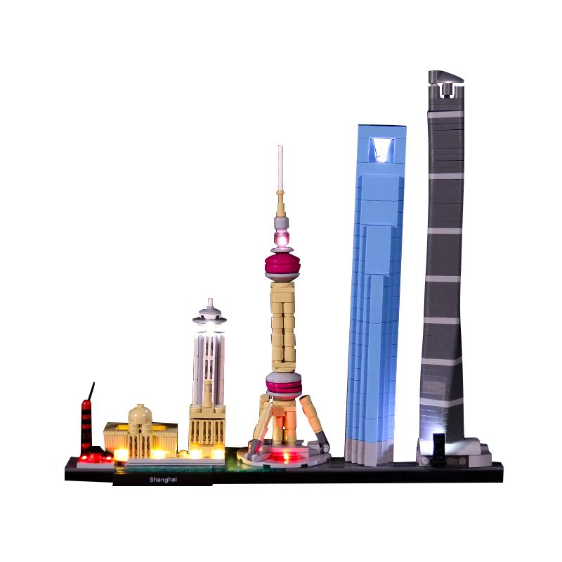 Shanghai #Lego Light Kit for 21039