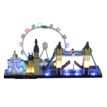 London #Lego Light Kit for 21034