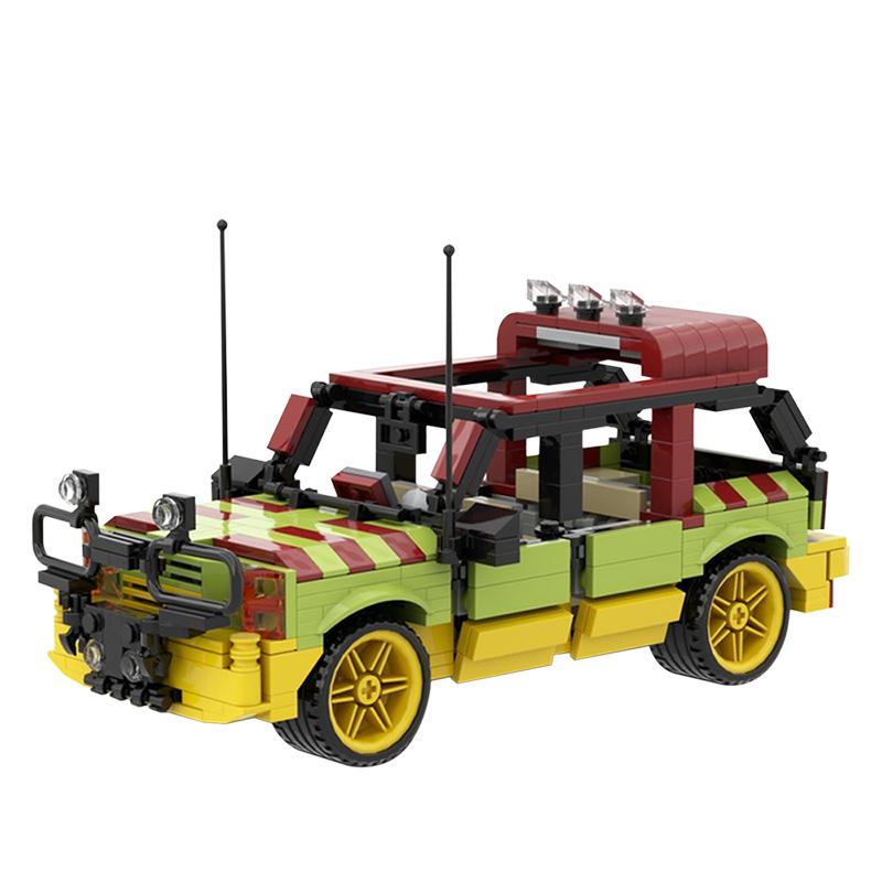 MOC-20605 Jurassic Park Explorer
