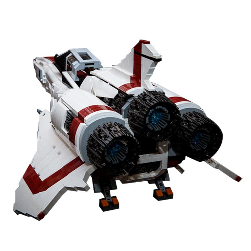 Stickers for Lego ® MOC-9424 Battlestar Galactica Viper UCS V2 Full CMYK HQ Vinyl