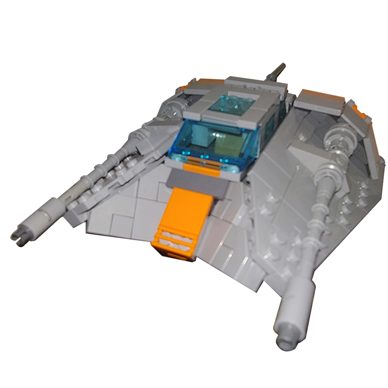 MOC-15626 Building Blocks Set for Star Wars Snowspeeder Minifig Scale Brick Toys