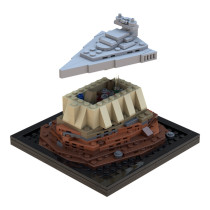 MOC-38360 Imperial Star Destroyer over Jedha