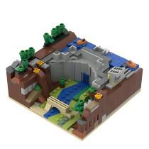 MOC-36315 Dam Diorama