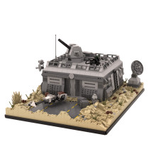MOC-50143 Star Wars Base (Outpost) on Tatooine