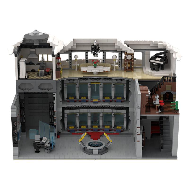 MOC-37124 Iron Man Base by beewiks-Beewiks