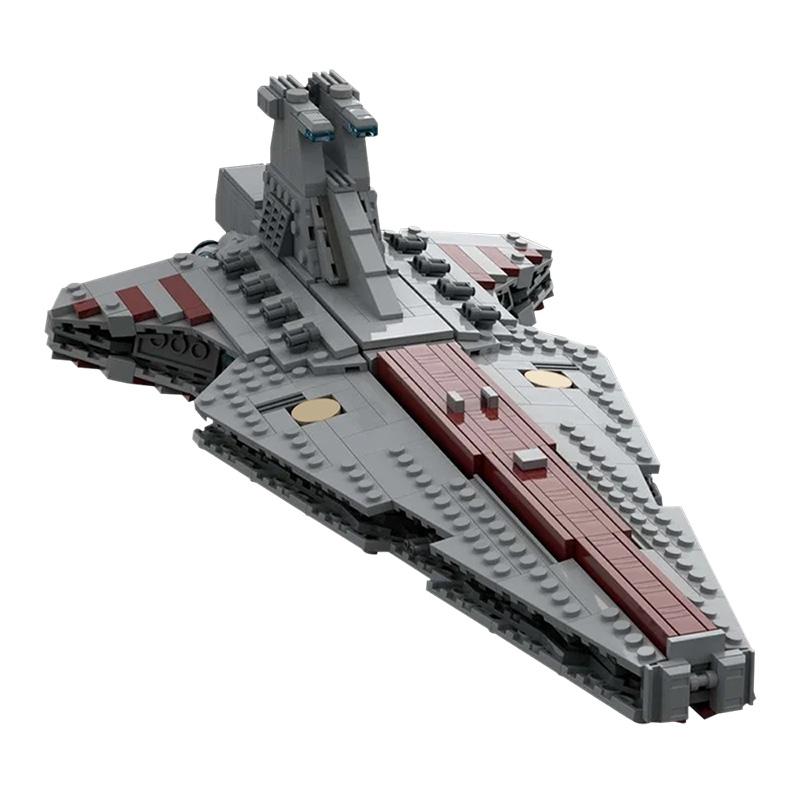 MOC-37121 Star Wars Venator Republic Attack Cruiser