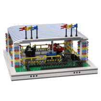 MOC-37237 Bumper cars for modular Amusement Park