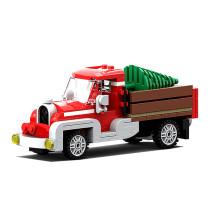 MOC-17099 Winter Village - Old Truck (Revised!)