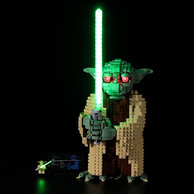 Yoda # Lego Light Kit for 75255