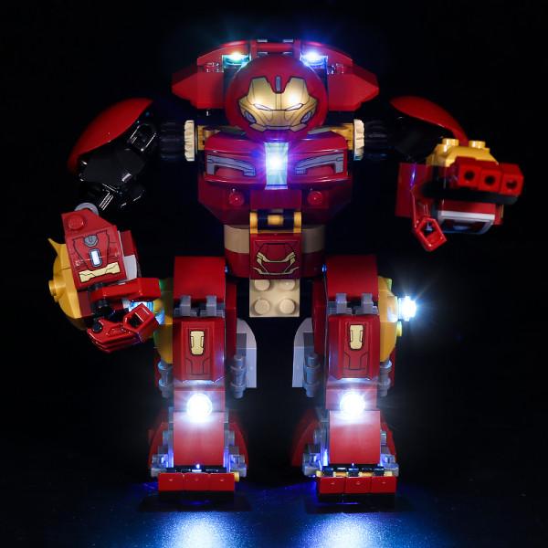 The Hulkbuster Smash-Up # Lego Light Kit for 76104