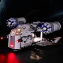 The Razor Crest # Lego Light Kit for 75292