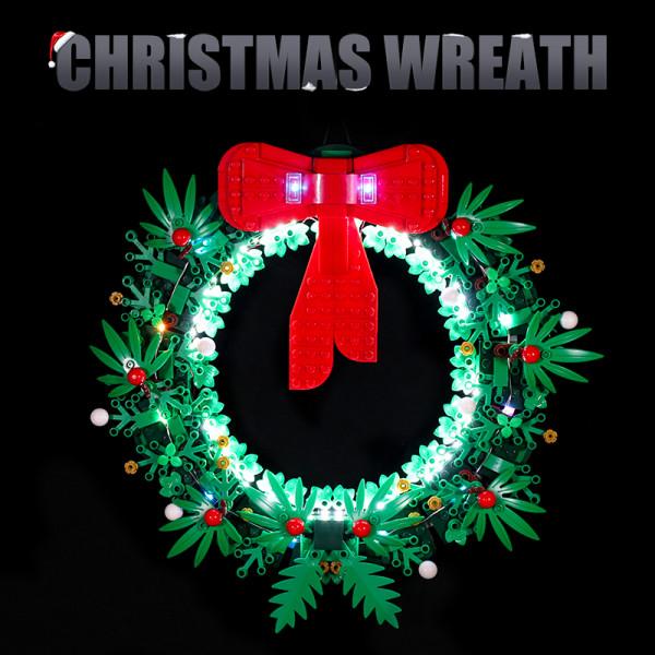 Christmas Wreath 2-in-1 # Lego Light Kit for 40426