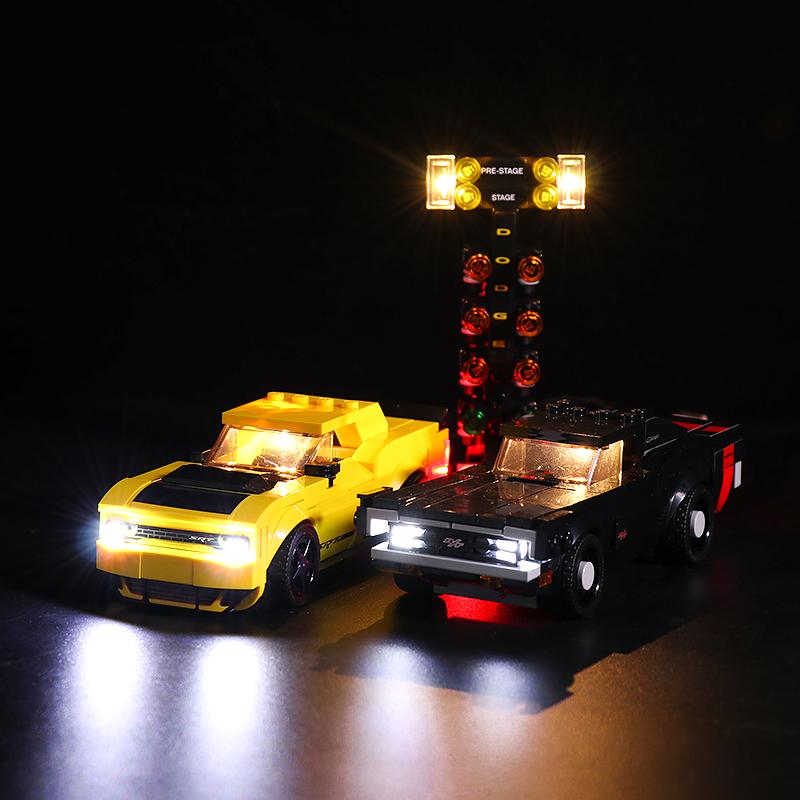 Dodge # Lego Light Kit for 75893