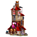 Attack on the Burrow # Lego Light Kit for 75980