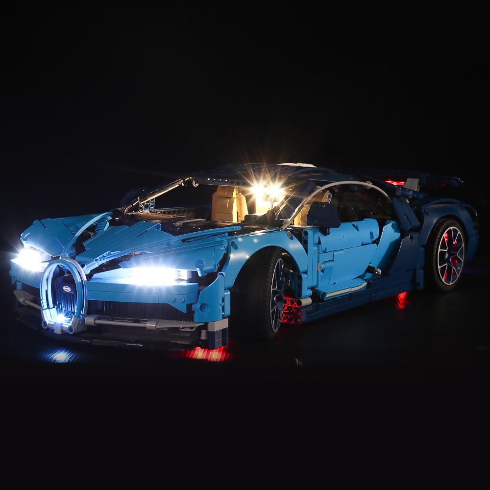 Bugatti Chiron # Lego Light Kit for 42083