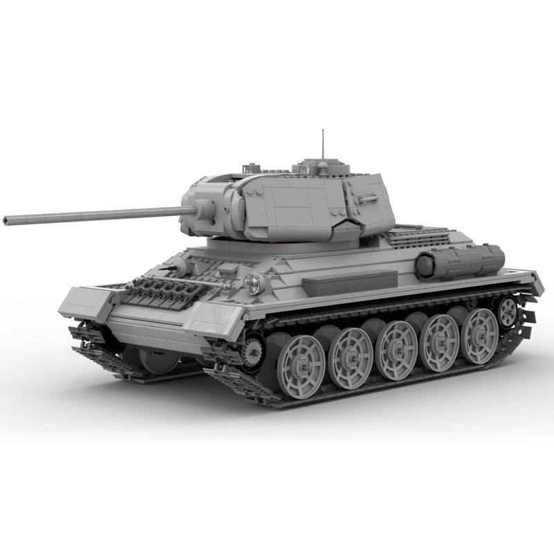 MOC-53096 T-34/85 RC Tank With Shooting Mechanism