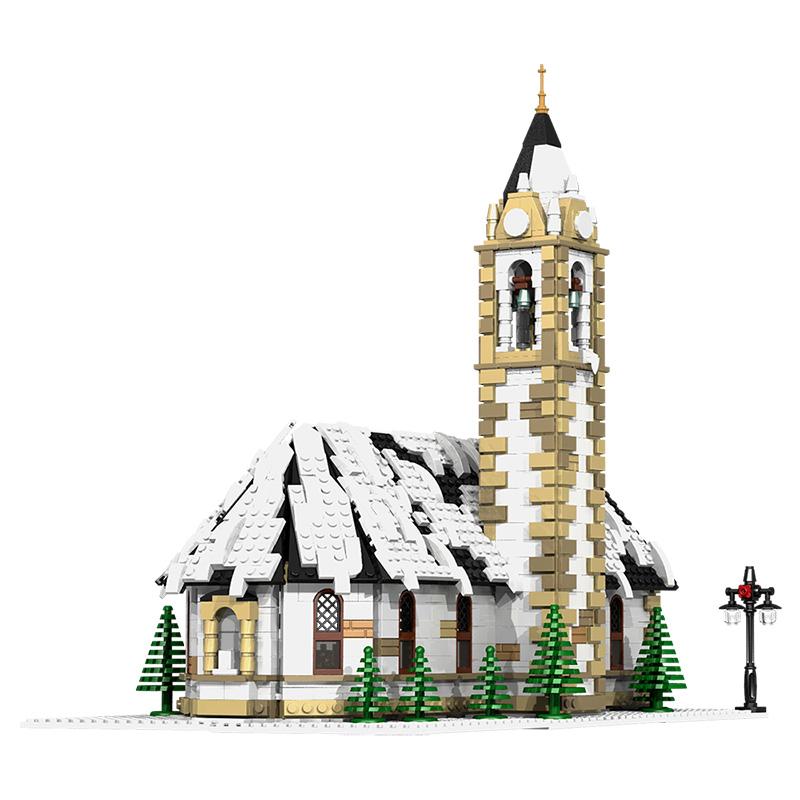 MOC-6195 Winter Village Church