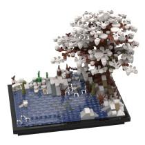 MOC-35927 Tree on a Lake Winter