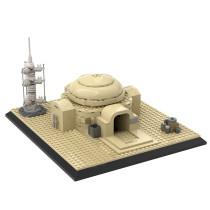 MOC-20097 Luke's home on Tatooine (Lars Homestead)