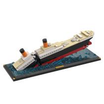 MOC-51466 Titanic Sinking Scene