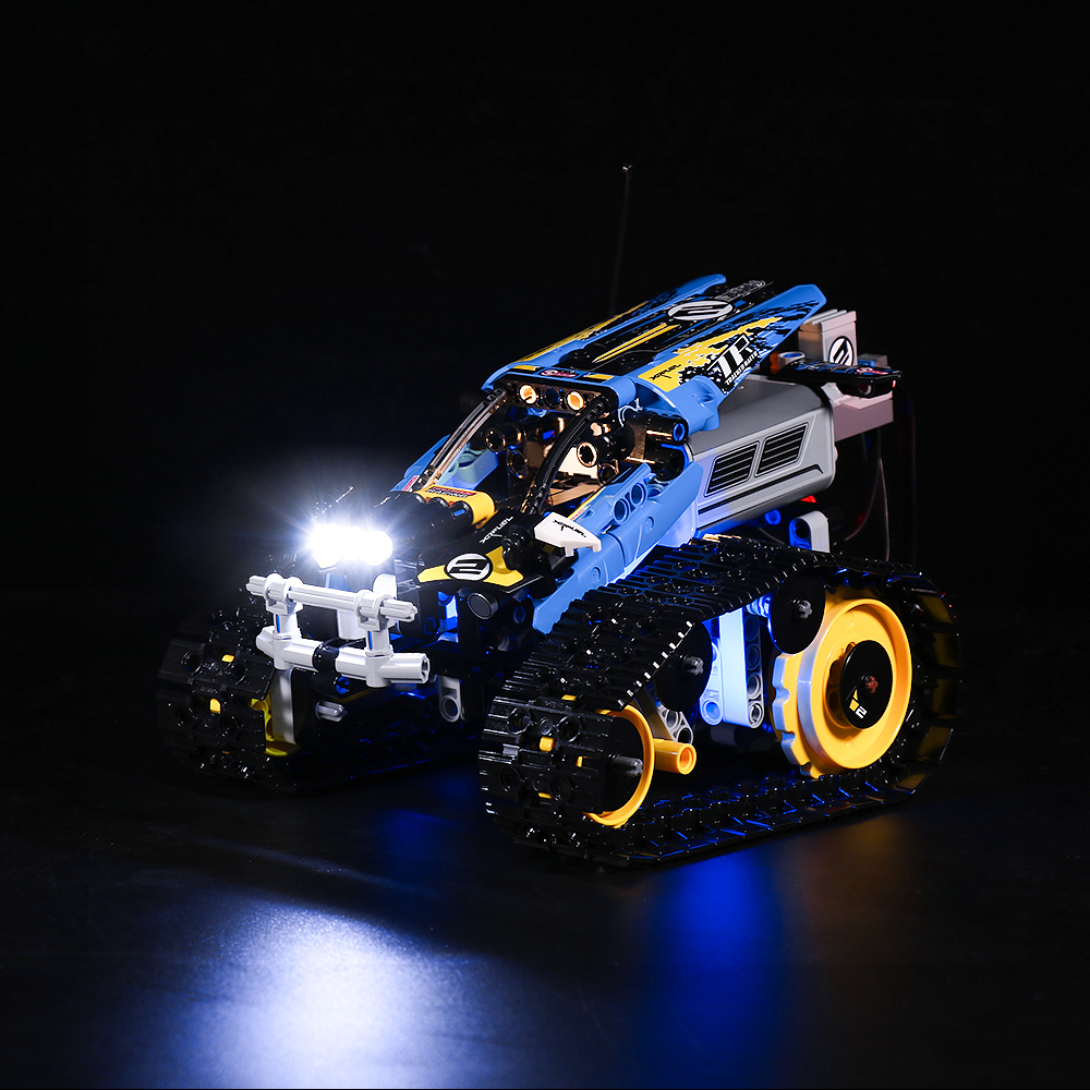 LEGO REMOTE-CONTROLLED STUNT RACER 42095 LIGHT KIT