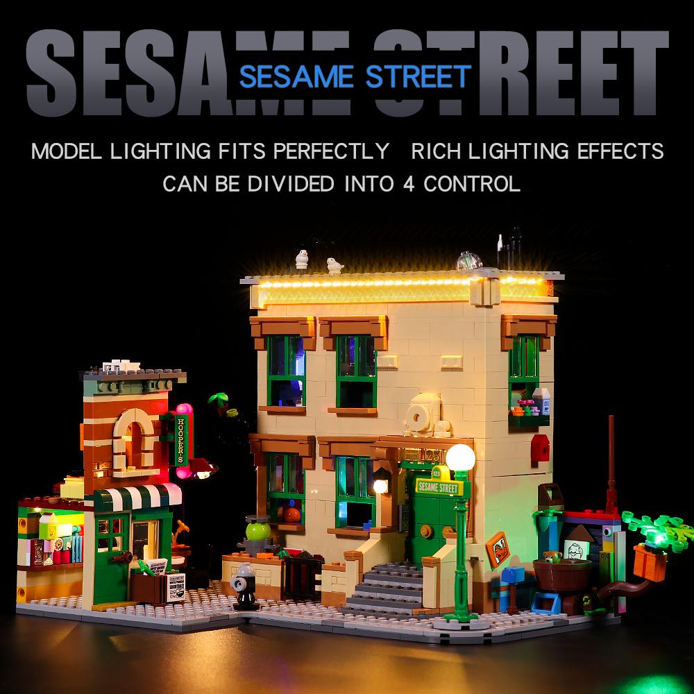 LEGO SESAME STREET 21324 LIGHT KIT