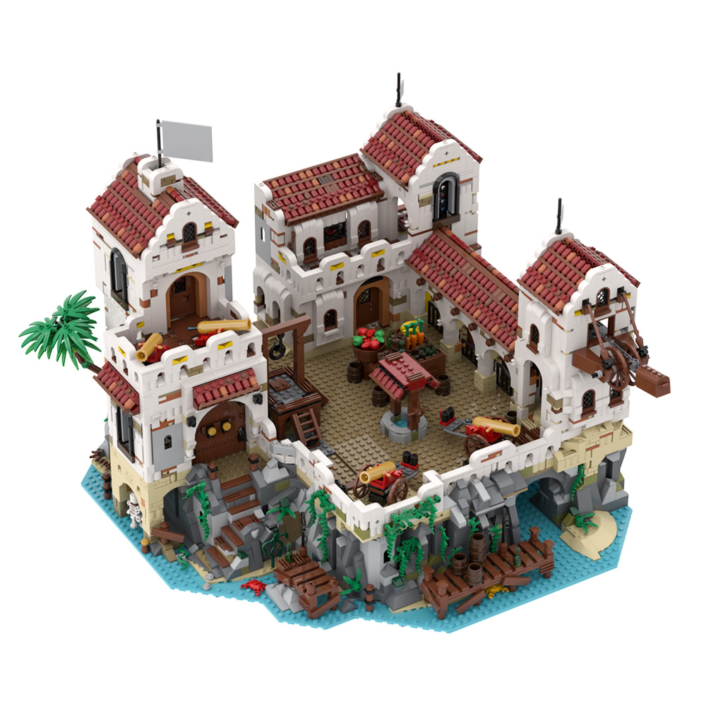 MOC-49155 Eldorado Fortress - Pirates of Barracuda Bay