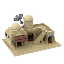 MOC-45639 Star Wars Tatooine Double Building (Slums) TAT02